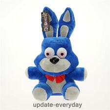 "New HOT FNAF Five 5 Nights at Freddy's BONNIE Blue 10"" Plush Doll Toy Gift"