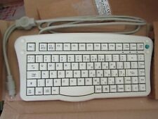 DS Keyboard Technic Wired White PS/2 Compact, Ergonomic Keyboard - IT 208049