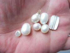 edles Konvolut Perlen__echte, hochwertige Perlen__!