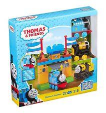 MEGA Bloks Thomas & Amici Thomas & Stephen Castello GATES Playset