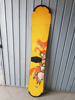 +ATTACCHI X SCARPONI_TAVOLA SNOWBOARD BURTON ORANGE 160cm all mountain freestyle