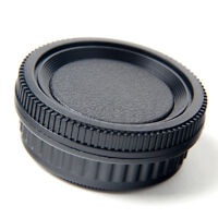 Body + Rear Lens Cap Cover Cap for Pentax PK K20D K10D K200D K100 TW