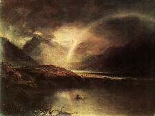 Gewitter auf dem Buttermeer-See in Cumberland William Turner Bütten H A3 0450