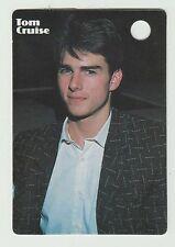 1980s UK Pop Star Card US Top Gun Film Movie Superstar Tom Cruise