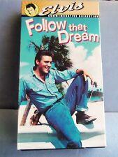 ELVIS VHS MOVIE FOLLOW THAT DREAM COMMEMORATIVE COLLECTION