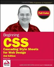 Beginning CSS: Cascading Style Sheets for Web Desi... by York, Richard Paperback