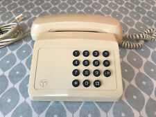 More details for fully working 1980s bt tribune 9802ar corded telephone british telecom cream.