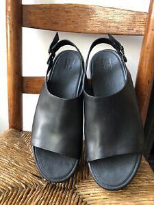 Fitflop Womens Platform Sandals Shoes Leather US 11 EU 43