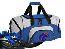 SMALL Boise State GYM BAG Boise State University Duffel Overnight Bag