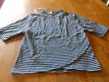 """NWT! """"S.O. RAD"""" LADIES CROSSOVER STRIPED TOP SIZE S  $30."""