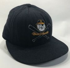 Vintage Salem Buccaneers Fitted Baseball Hat 7 1/8 MiLB New Era 59/50 Black Wool