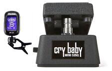 Jim Dunlop Cry Baby Mini 535Q Wah Pedal CBM535Q Half Size ( DUNLOP GUITAR TUNER)