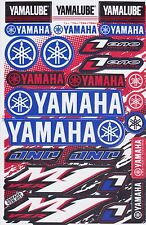 New Racing Decal Sticker 1 Sheet Yamaha Logo Car Motocross Motorcycle ATV Y04