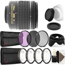 Nikon AF-P DX NIKKOR 18-55mm Lens for Nikon DSLR Cameras + Accessories