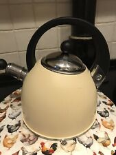 Aga Whistling Kettle In Aga Cream