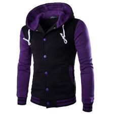Men Coat Jacket Outwear Sweater Winter Slim Hoodie Warm Hooded Sweatshirt Vogue
