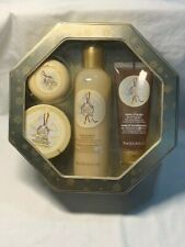 The Body Shop Vanilla Bliss Gift Set Body Polish Shower Gel Butter Soap