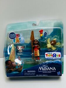 Disney Hasbro Moana Colorful Adventures Set Toys R Us Exclusive New Free Ship