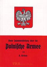Kurze Zusammenstellung über die Polnische Armee - K. Urban 2. WK 1939 Militär