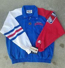 New York Rangers Vintage Center Ice Starter Jacket Men's Large ( VERY RARE )
