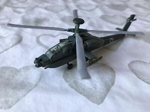 1/144 BELL AH-64D 'APACHE BUILT MODEL KIT FOR DISPLAY 'GOOD SIZE' CORGI HASEGAWA