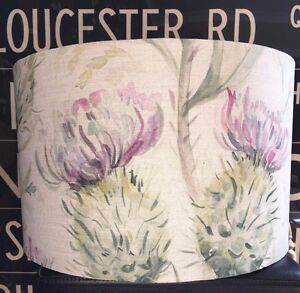 New Handmade Lampshade in Voyage Thistle Glen Spring 3 Sizes Lamp or Ceiling