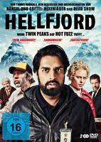 STIG FRODE ZAHID ALI/HENDRIKSEN - HELLFJORD 2 DVD NEU