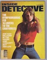 ORIGINAL Vintage August 1977 Inside Detective Magazine GGA
