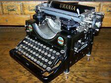 Antique 1926 Uranina Vintage Model 6 Typewriter - Made in Germany