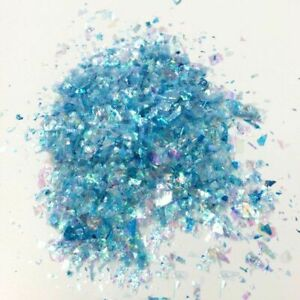 Colorful Paillette Glitters Irregular Shell Paper Sequins Resin Craft Materials