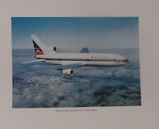 DELTA AIRLINES POSTER  LOCKHEED L1011