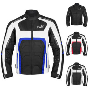 Motorbike Riding Racing Men's All-Weather CE Armored Motorcycle Jacket