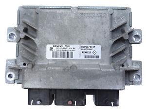 Renault Twingo II CN0 Steuergerät Motorsteuergerät 8200774747 8200700695