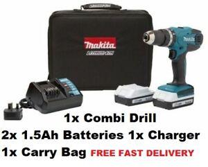 Makita  ✅ Cordless 18V Li-Ion Combi  ✅ Drill 2 Batteries HP457DWEX2