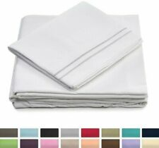 Cosy House 1500 Collection 4 Piece Bed Sheet Set Silky Soft Deep Pocket Sheets