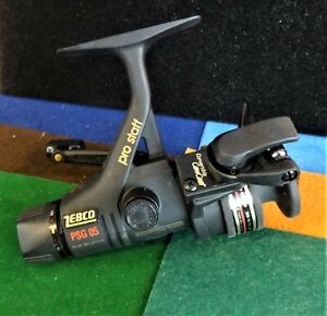 Vintage Zebco/Quantum Pro Staff PSG 05 Graphite Spinning Reel - Tested & Working