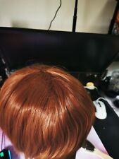 Clannad Furukawa Nagisa Disfraz Cosplay peluca de color marrón S08