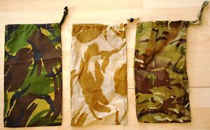 GB Packsack für Basha Tarp Bag for Shelter Sheet MTP dpm desert dpm Basha Army