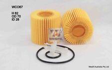 WESFIL OIL FILTER FOR Toyota Aurion 3.5L V6 2012 04/12-on WCO67