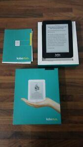 Kobo Mini 2GB, Wi-Fi, 5in - Black Pocket Sized E Reader Tablet in Box - EPP