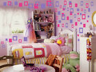 vinyl stickers decals wall decor SQUARES SOLID  EMPTY