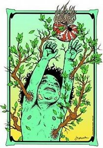 Natures Child STICKER Decal Poster Art Jermaine JR3
