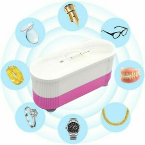Leicht Ultraschallreiniger Reinigungsgerät Münzen Brillen Schmuck Uhren Reiniger
