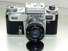 Kiev-4M Soviet Rangefinder Film Camera Contax Clone w/s HELIOS-103