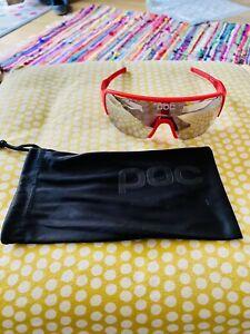 POC DO Half Blade Sunglasses in Red