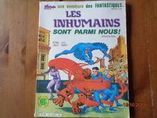 """Marvel -Une aventure des fantastiques N°39 """"Les inhumains sont  parmi nous"""" Lug"""