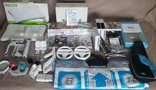 Nintendo Wii Consoles HUGE Bundle,Wii fit, Mario Kart & Galaxy +27 Extra Games!!