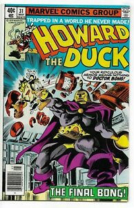 Howard the Duck #31 Marvel Comics 1979 VF