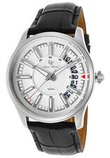 Lucien Piccard Del Campo Silver Dial Mens Watch LP-40025-02S