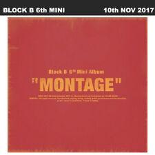 Block B Montage 6th Mini Album Poster+Photobook+Lyric+Card+Initial Limited Item